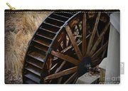 Wooden Water Wheel Carry-all Pouch by Paul Ward