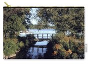 Woodfoot Bridge Of Williams Bay Wi Over Geneva Lake  Carry-all Pouch