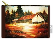 Woodland Barn In Autumn Carry-all Pouch