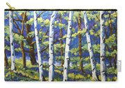 Woodland Birches Carry-all Pouch