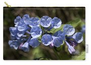 Woodland Blue Carry-all Pouch