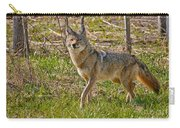Woodland Coyote Carry-all Pouch