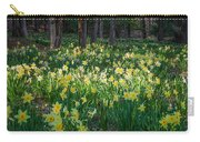 Woodland Daffodils Carry-all Pouch by Bill Wakeley