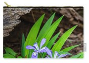 Woodland Dwarf Iris Wildflowers Carry-all Pouch
