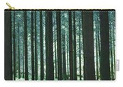 Woodland Scene In Gougane Barra Forest Carry-all Pouch