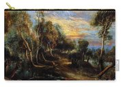 Woodland Scenery Carry-all Pouch