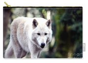 Woodland White Wolf 2 Carry-all Pouch