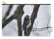 Woodpecker In Winter Carry-all Pouch