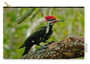 Woodpecker On A Limb Carry-all Pouch