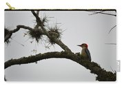 Woodpecker On Lookout Carry-all Pouch