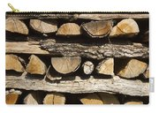 Woodpile. Carry-all Pouch