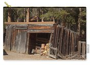 Woodshed On The Holzwarth Historic Site Carry-all Pouch
