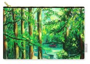 Woodside View Green Carry-all Pouch