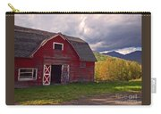 Woodstock Ny Red Barn Carry-all Pouch
