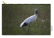 Woodstork In Field Carry-all Pouch