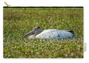 Woodstork Lazing In The Park Carry-all Pouch