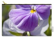 Woodward Pansy Carry-all Pouch