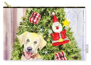 Woof Merry Christmas Carry-all Pouch