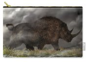 Woolly Rhinoceros Carry-all Pouch