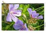 Wooly Geranium In Katmai National Preserve-ak  Carry-all Pouch