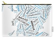 Wordcloud Of Scotland Carry-all Pouch