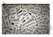 Words... Carry-all Pouch