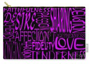 Words Of Love 2 Carry-all Pouch