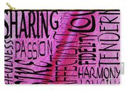 Words Of Love 3 Carry-all Pouch