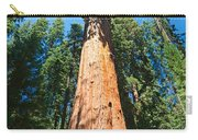 World Famous General Sherman Sequoia Tree In Sequoia National Park. Carry-all Pouch