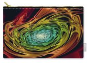 World In Her Hands Carry-all Pouch by Anastasiya Malakhova