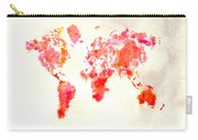 World Map 1h Carry-all Pouch