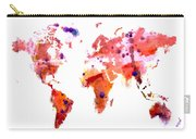 World Map 1q Carry-all Pouch