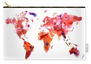 World Map 2f Carry-all Pouch