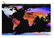 World Map Colourful Dots  Carry-all Pouch