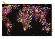 World Map In The Future Carry-all Pouch by Augusta Stylianou