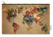 World Map Watercolor Painting 1 Carry-all Pouch