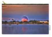 World Showcase Lagoon Sunset Carry-all Pouch