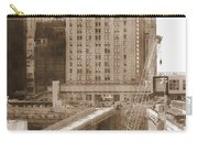 World Trade Center Reconstruction Vintage Carry-all Pouch