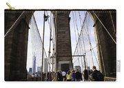 World Trade Center Through The Bridge Carry-all Pouch