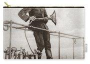 World War I Air Raid Siren Carry-all Pouch