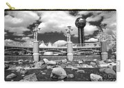 Worlds Fair Park In Knoxville - Infrared Carry-all Pouch