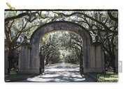 Wormsloe Plantation Gate 2x3 Carry-all Pouch