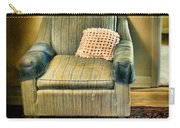 Worn Chair By Doorway Carry-all Pouch