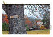 Worried Tree Carry-all Pouch