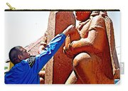 Worshipper At Festival Of Ram Nawami In Kathmandu-nepal    Carry-all Pouch