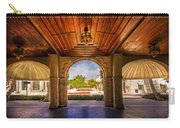 Worth Avenue Courtyard Carry-all Pouch by Debra and Dave Vanderlaan