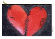 Wounded Heart Carry-all Pouch