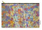 Woven Branches Long Carry-all Pouch