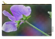 Woven Floral Carry-all Pouch