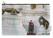 Wreath And Guard At The Tomb Of The Unknown Soldier Carry-all Pouch